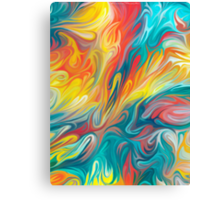 Abstract Colors II Canvas Print