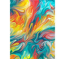 Abstract Colors II Photographic Print