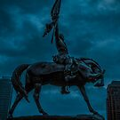 Chicago Blue Series-Victory by Damian  Christopher