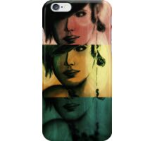 Girl 3x iPhone Case/Skin