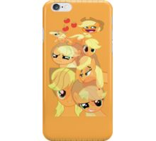Applejack Faces (I-Pod touch) iPhone Case/Skin