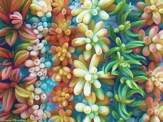 Succulent Garden by Shannon Posedenti