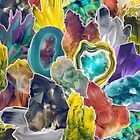 Crystal Collage by Shannon Posedenti