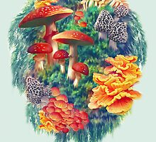 Fungus Amongus by Shannon Posedenti