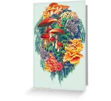 Fungus Amongus Greeting Card