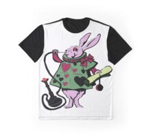 RABBIT SMOKE TRIP Graphic T-Shirt