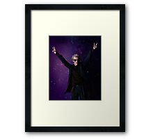 Doctor Disco (12th Doctor) Framed Print