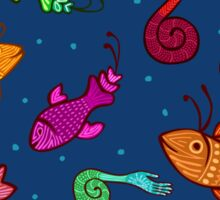 extraordinary sea creatures Sticker