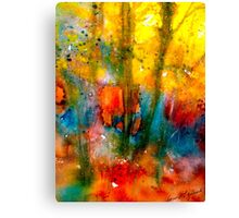 Autumn Lyric Canvas Print