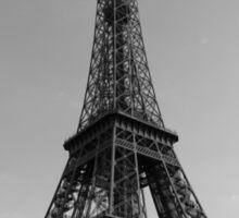 Eiffel Tower Black & White (Paris) Sticker