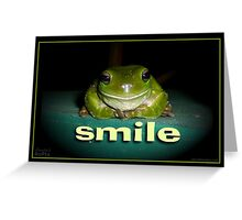 SMILE!! Greeting Card