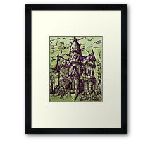 Hotel California - Haunted House Framed Print
