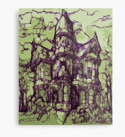 Hotel California - Haunted House Metal Print