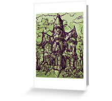 Hotel California - Haunted House Greeting Card