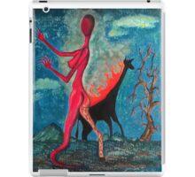 The Burning Giraffe Interpretation  iPad Case/Skin
