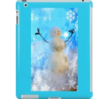 The Snow Maker at work iPad Case/Skin