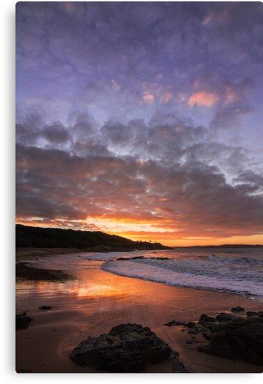 Workman's Beach Sunset by Tim Swinson