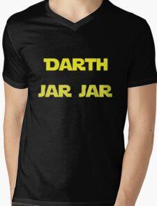 Darth Jar Jar Mens V-Neck T-Shirt
