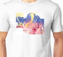 Painted Deer Unisex T-Shirt