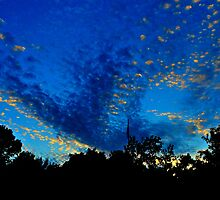 Footprints In The Sky by Vince Scaglione