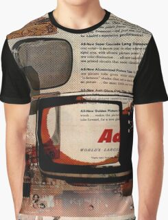 cool geeky tech Retro Vintage TV television Nostalgia Graphic T-Shirt