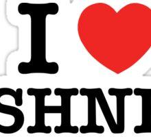 I Love BUSHNELL Sticker