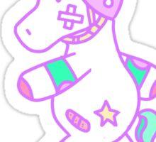 Unicorn Roller design Sticker