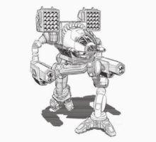 battletech madcat timberwolf by cannibaljeri