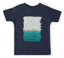 abstract seascape Kids Tee