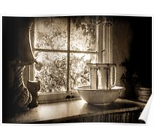 The Scullery ~ Sepia Poster