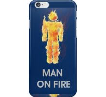 Man on fire apple toys / iPhone ipad  iPhone Case/Skin