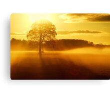 """""""THE DAY BEGINS"""" Canvas Print"""