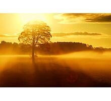 """""""THE DAY BEGINS"""" Photographic Print"""