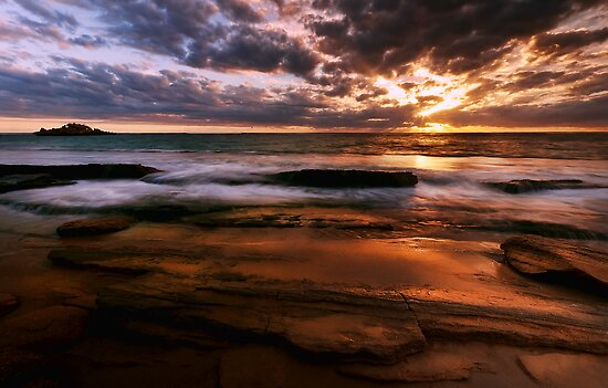 """""""Point Peron Sunset 2"""" by Heather Thorning"""
