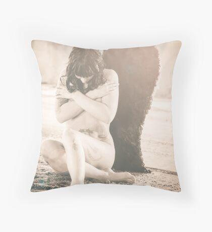 fallen Angel 3 Throw Pillow
