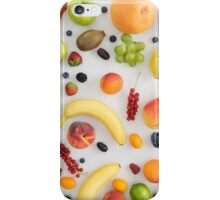 Collection of summer fruits iPhone Case/Skin