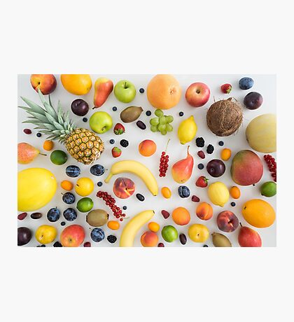 Collection of summer fruits Photographic Print