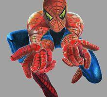 Flying Spiderman! by SoderblomArt