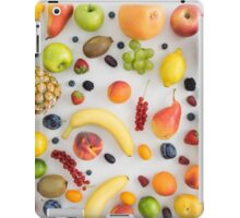 Collection of summer fruits iPad Case/Skin