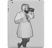 """The Bear Maid"" Black Variation iPad Case/Skin"