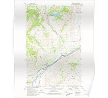 USGS Topo Map Washington State WA Malott 242154 1981 24000 Poster