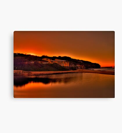 North Curly Sunrise 8/5/12 Canvas Print