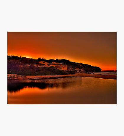 North Curly Sunrise 8/5/12 Photographic Print