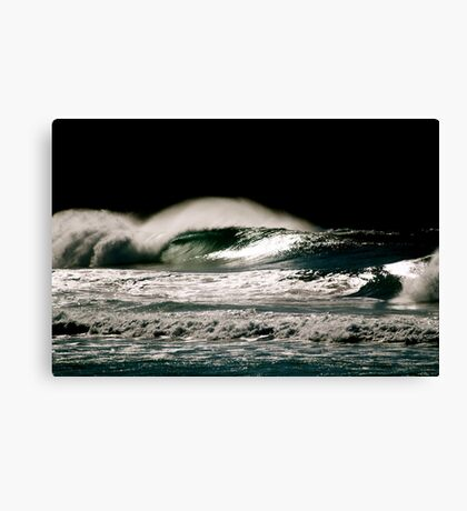North Avalon and it was empty!! Canvas Print