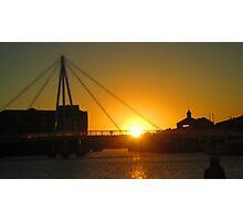 Sunset Strikeoff Photographic Print