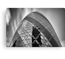 The Cloudy Gherkin Canvas Print