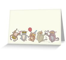 Party Tarsiers Greeting Card
