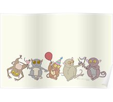 Party Tarsiers Poster