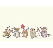 Party Tarsiers Photographic Print