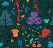 Plant Pattern Color 2 Sticker